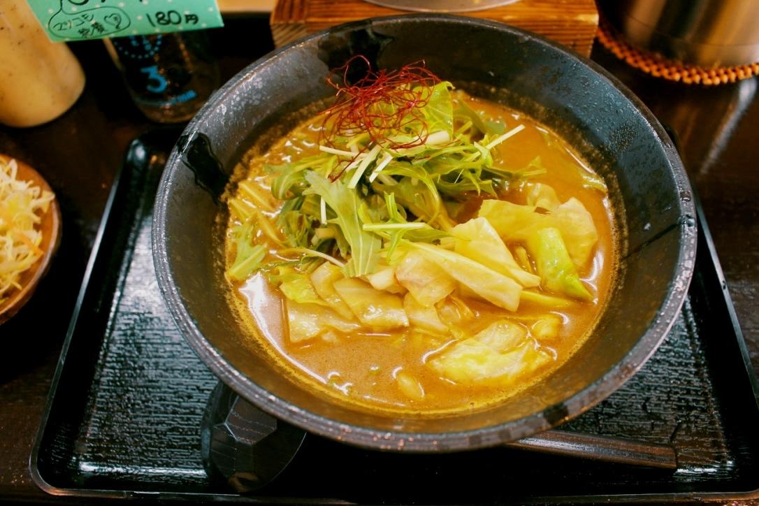 濃厚ミルクスープがうますぎる!前橋市・「カレーうどん金富士」